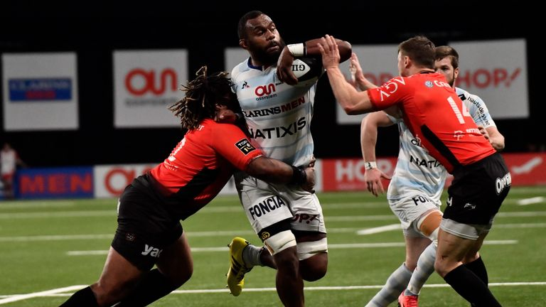 Racing 92 are second in the Top 14 table - six points behind Montpellier
