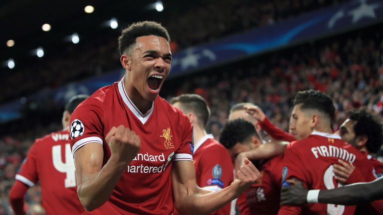 Trent Alexander-Arnold was superb for the hosts