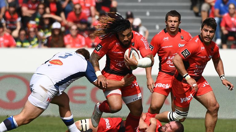 Ma'a Nonu was one of the departees out of Toulon during the off-season