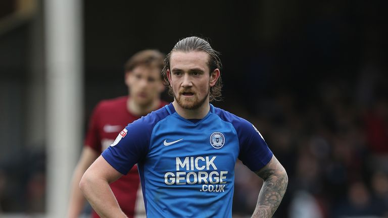 Jack Marriott has combined with Peterborough team-mate Marcus Maddison for 10 goals this season