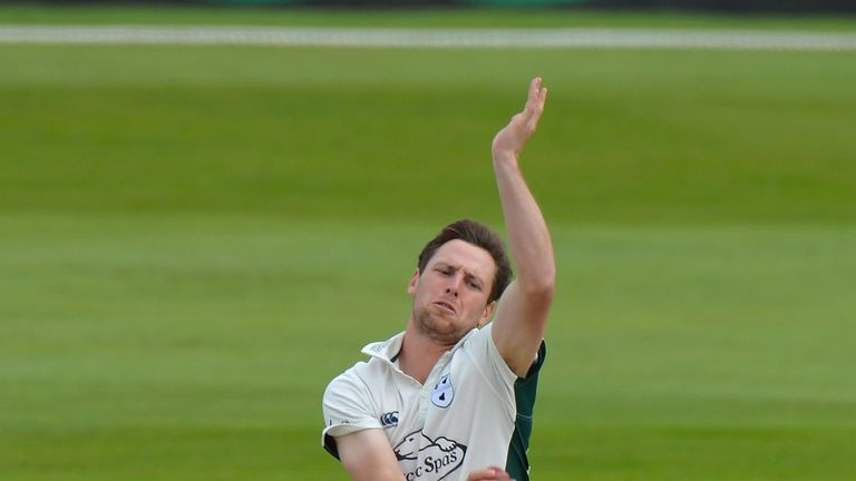 Matt Henry took 3-24 as Kent reduced Sussex to 69-4 at stumps