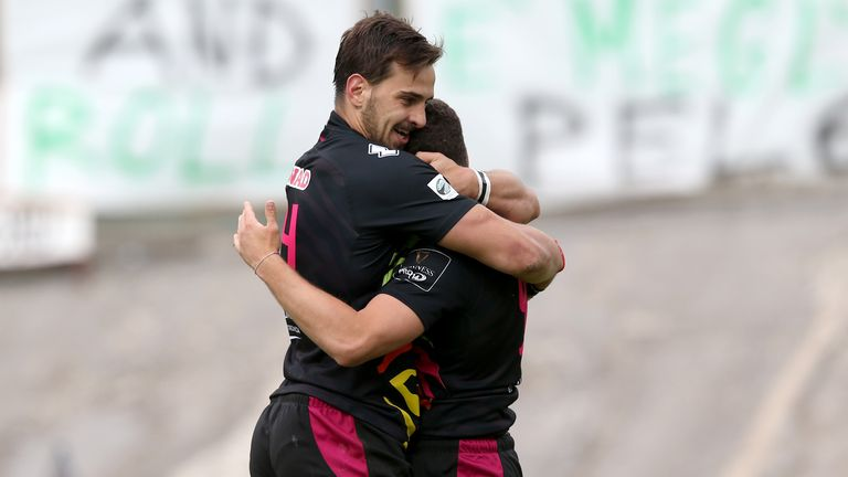 Zebre made it two wins from two for Italian clubs this weekend with a brilliant come-from-behind victory over the Dragons