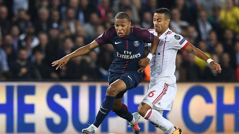 Mbappe and Thiago Alcantara are both City targets