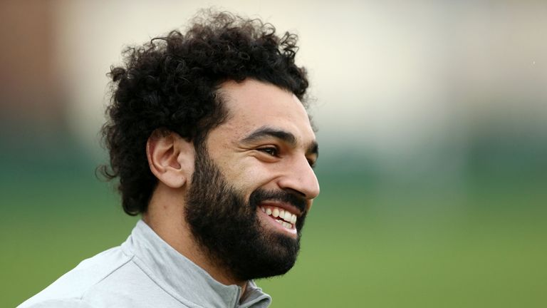 Mohamed Salah says he is excited to be at the World Cup with Egypt