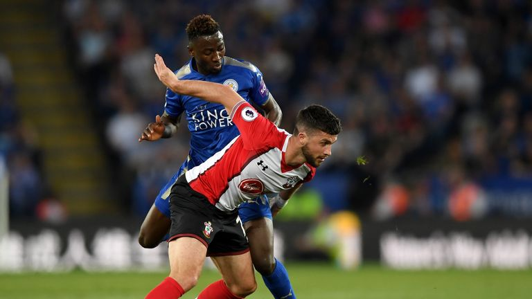 Wilfred Ndidi brought much-needed steel to the Leicester midfield against the Saints