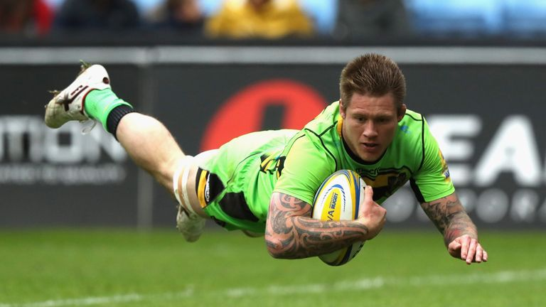 Teimana Harrison's try had given Northampton optimism of victory