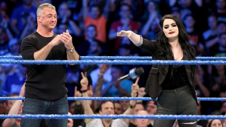 Paige was confirmed as the new general manager of SmackDown