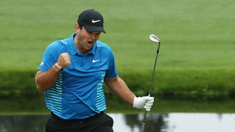 Patrick Reed is aiming high.