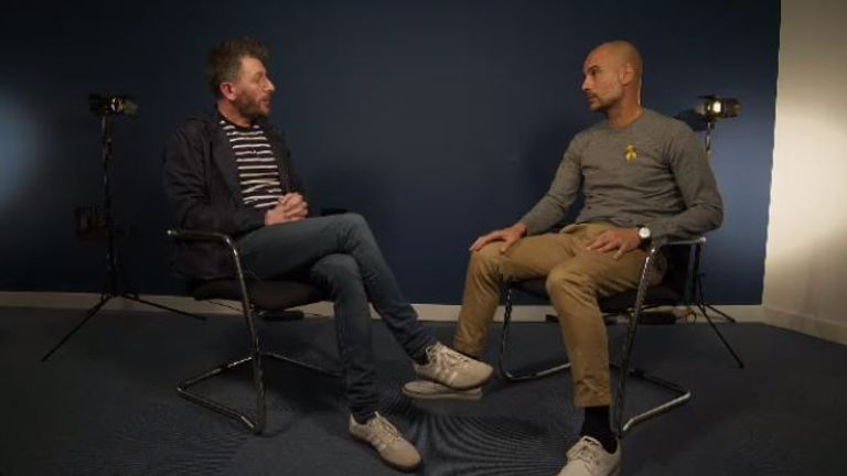 Watch Fenners' full interview with Pep Guardiola on Soccer AM from 10am on Sky Sports Premier League, Sky Sports Football and Sky One.