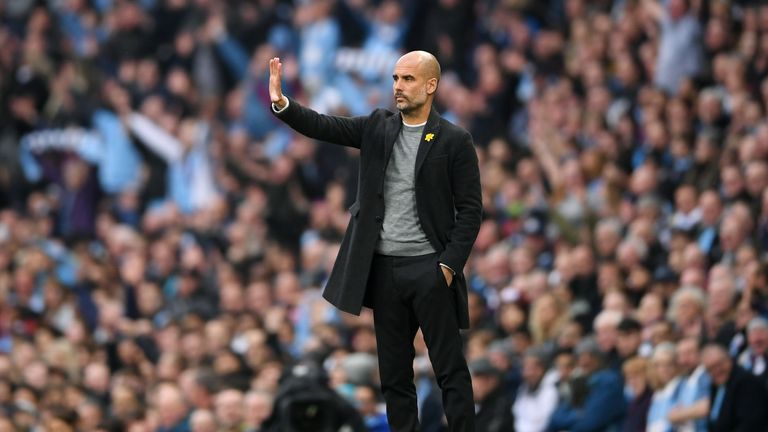 Guardiola's City have conceded six goals in their last two games