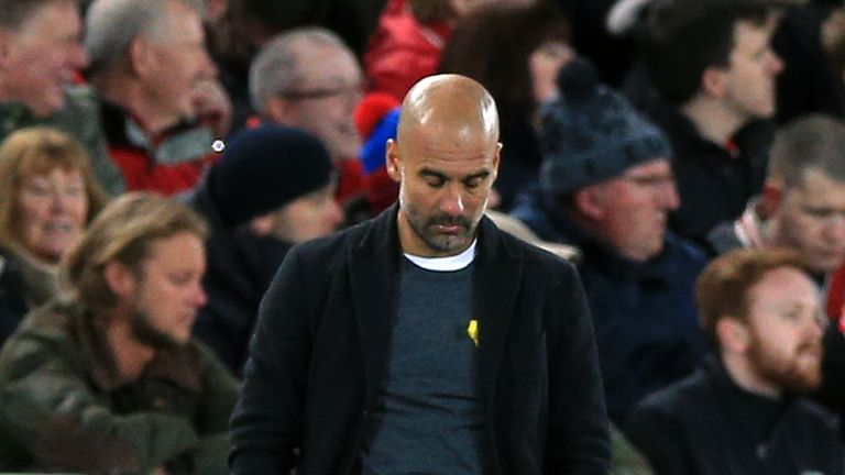 Pep Guardiola said he was left shocked by the damage to his team's bus
