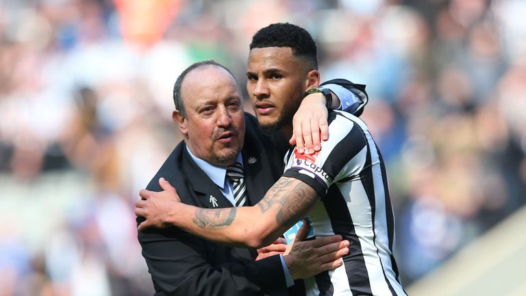 Rafael Benitez and Jamaal Lascelles joined Lee Charnley in issuing a rallying cry