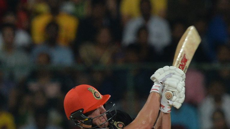 AB de Villiers is RCB's top run-scorer in the IPL so far  (Credit: AFP)