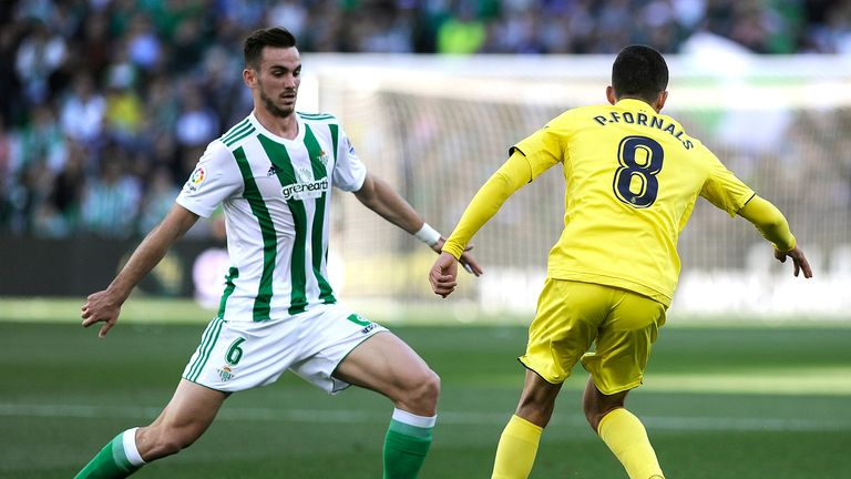 Real Betis midfielder Fabian's winner sent the club back into European football for the first time in five years