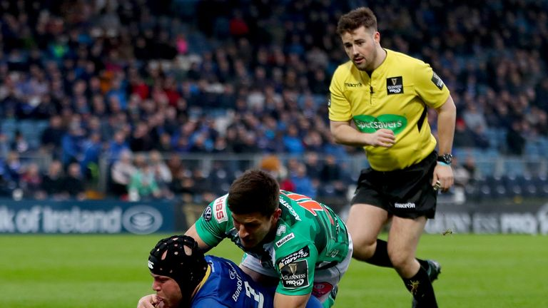 Leinster hooker Richardt Strauss appeared to have given them perfect start but they fell to a surprising loss