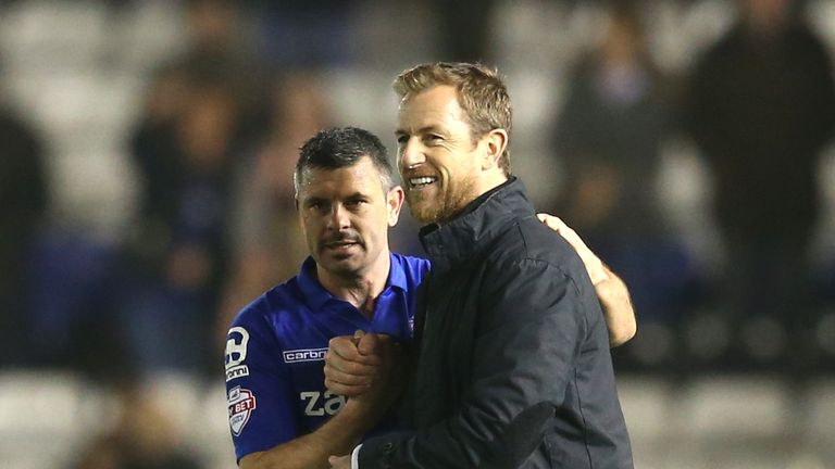 Gary Rowett began his managerial career at Burton before a spell with Birmingham.
