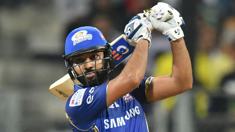 Rohit led Mumbai Indians to their fifth IPL title with a superb knock of 68 from 51 balls (Credit: AFP)