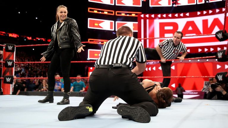 Ronda Rousey showed little remorse for her attack on Stephanie McMahon