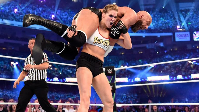 Rousey enjoyed a superb debut at this year's WrestleMania