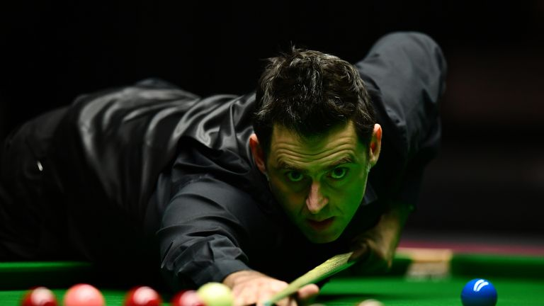 Ronnie O'Sullivan chalked up his 14th maximum 147 break
