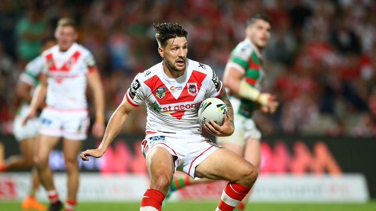 Gareth Widdop to leave Saints for Warrington at NRL season's end