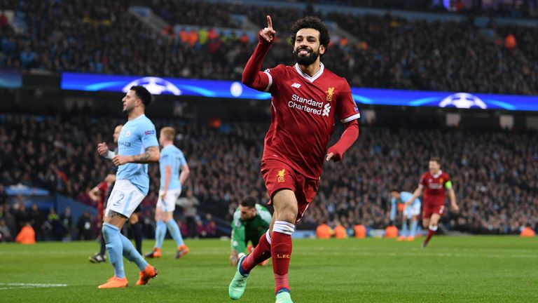 Mo Salah broke a series of goalscoring records in 2017/18