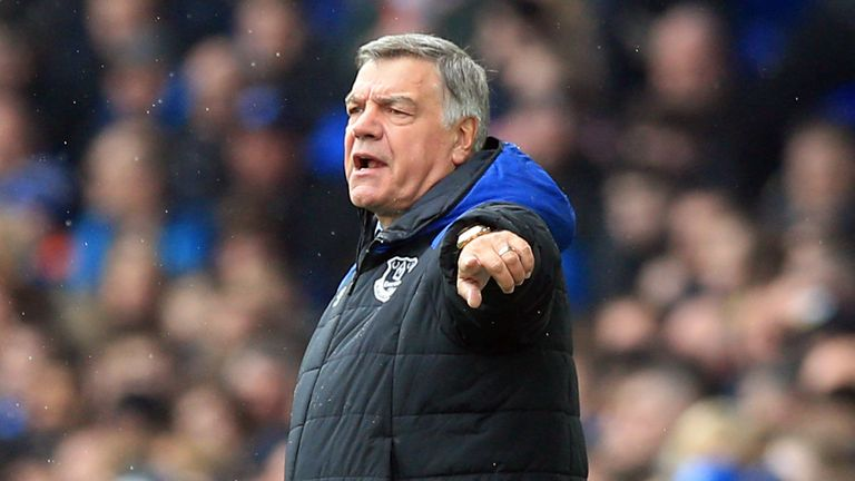 Sam Allardyce has guided Everton to eighth in the table