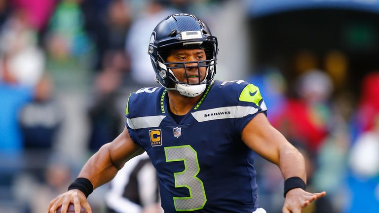 Russell Wilson has received help from the Seahawks run game in recent weeks