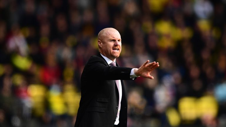 Sean Dyche is calming any thoughts of a Burnley spending spree this summer