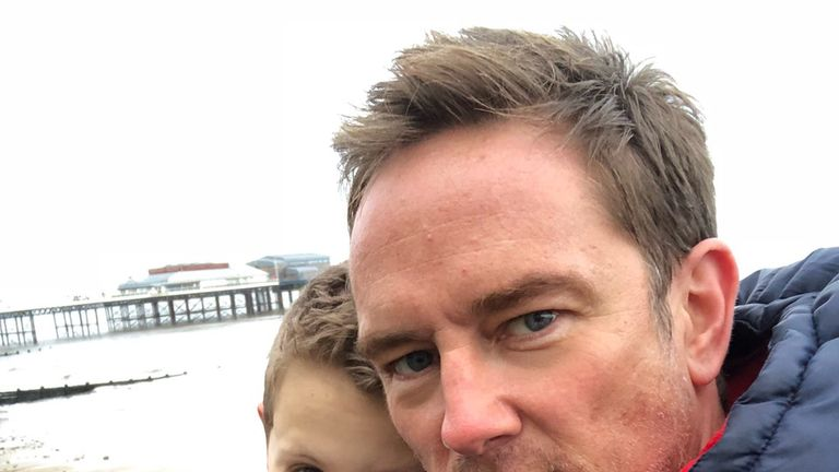 Simon Thomas' 30-day challenge for Bloodwise UK reaches Sky Sports