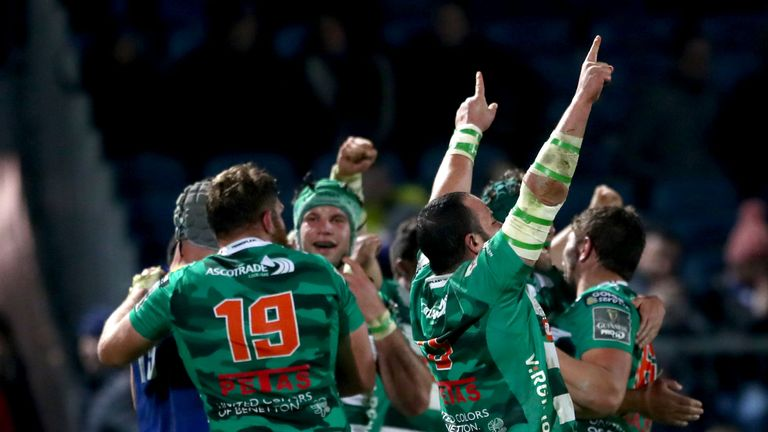 Benetton saw off Cardiff Blues on Saturday to make it two wins from two in this season's PRO14