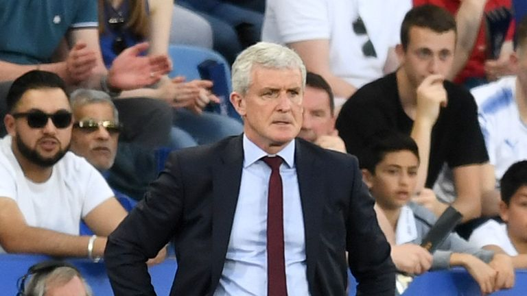 Mark Hughes knows his side will have to show more attacking intent in the run-in