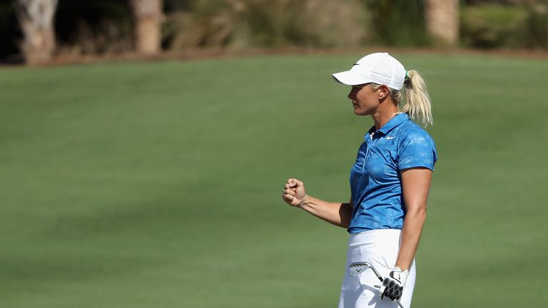 Pettersen hasn't featured on the LPGA Tour this season