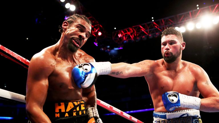 Dillian Whyte hopes Tony Bellew will stop David Haye again in Saturday's rematch, live on Sky Sports Box Office