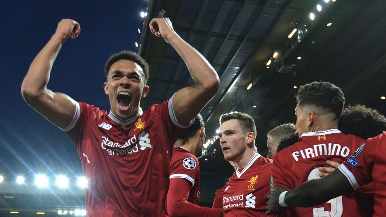 Liverpool hold a 3-0 lead going into the second leg at the Etihad