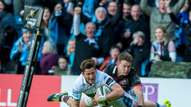 Glasgow will face Scarlets or Toyota Cheetahs in their PRO14 semi-final