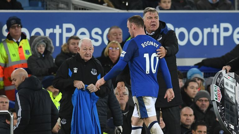 Will Everton be saying goodbye to Wayne Rooney as well after Sam Allardyce's exit?