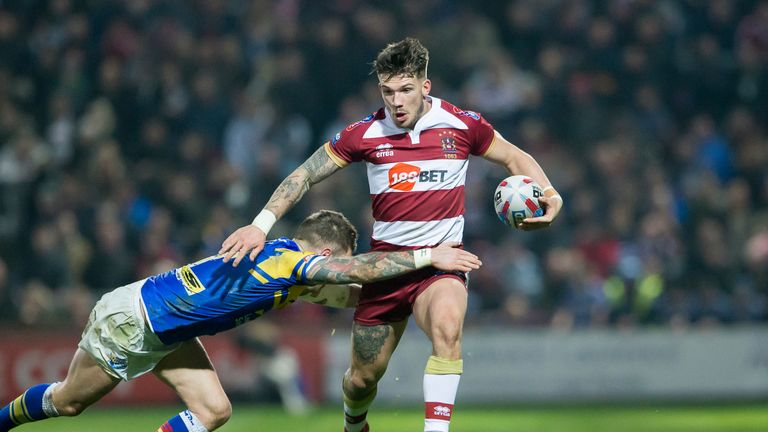 The Warriors mounted a late fightback to defeat the Rhinos