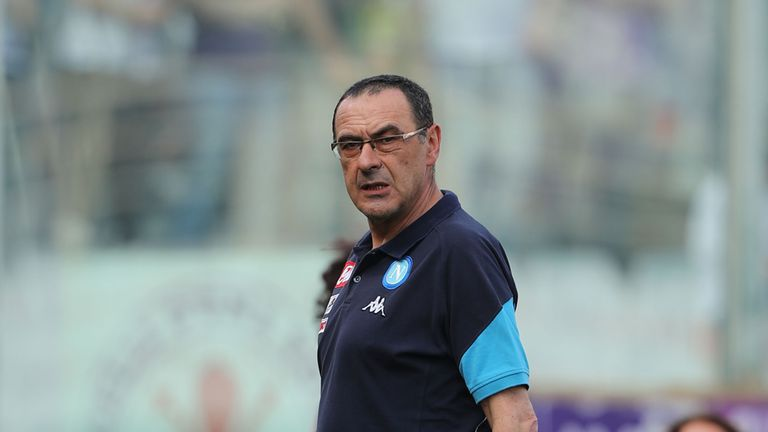 Maurizio Sarri is expected to take over from Antonio Conte at Chelsea