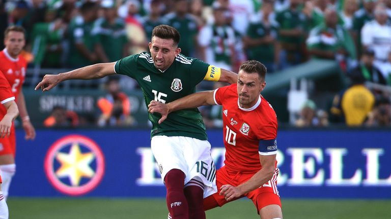 Ramsey injured his ankle in Wales' goalless draw with Mexico on Tuesday