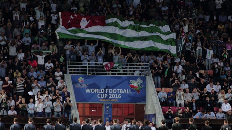 The partially recognised Black Sea state of Abkhazia are the holders of the World Football Cup, winning on home soil in 2016