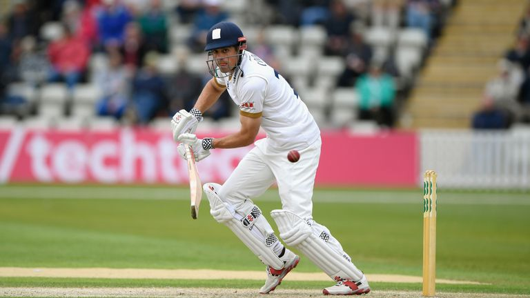 Alastair Cook top-scored for Essex but was dismissed for 37