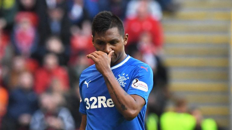 Morelos has scored 18 goals for Rangers