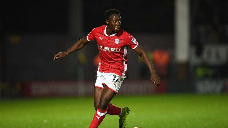 Andy Yiadom has become Reading's first summer signing