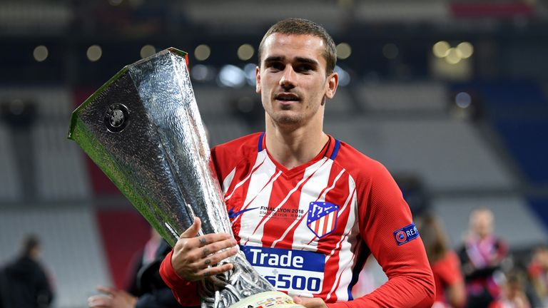 Griezmann has been strongly linked with Barcelona
