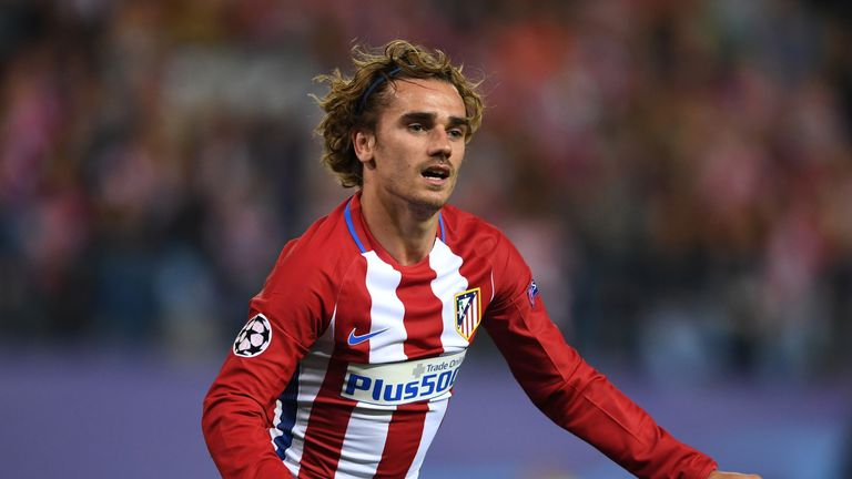 Antoine Griezmann is being targeted by Barcelona