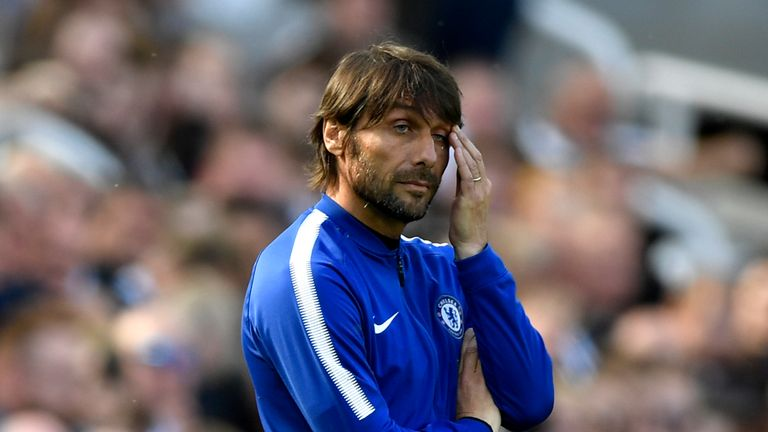 There's speculation surrounding Antonio Conte's future at Chelsea