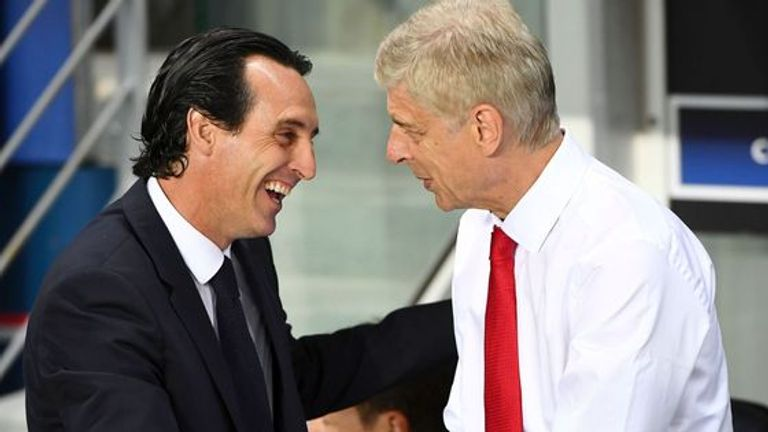 Emery hailed Arsene Wenger's legacy