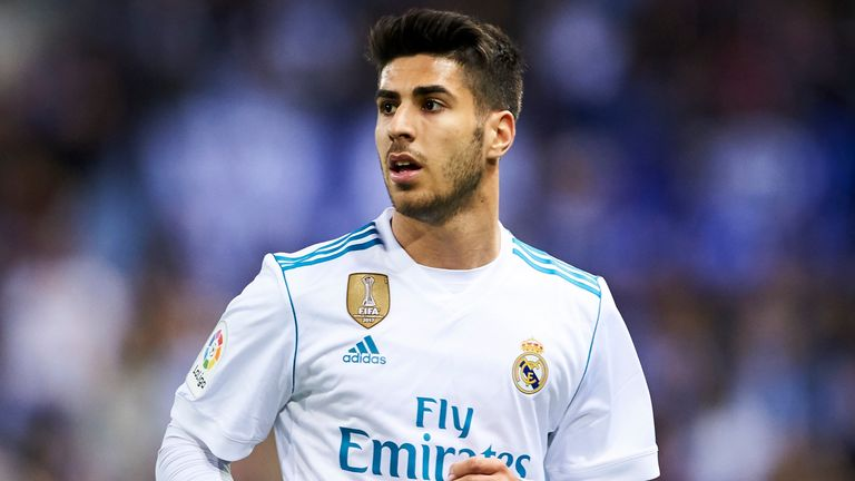 Spurs turned down the option to sign Madrid's Marco Asensio