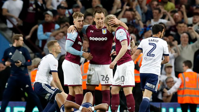 Terry captained Aston Villa last season